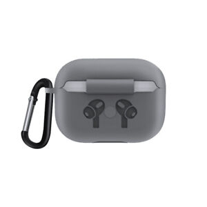 For Apple AirPods Pro Wireless Charging Case Silicone Protective Cover With Hook