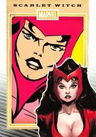 SCARLET WITCH / Marvel 75th Anniversary (2014) BASE Trading Card #71