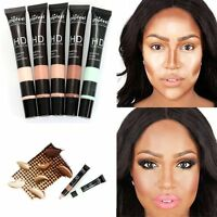 5 Colors Pro Make Up Palette Contour Kit Face Eye Concealer Foundation Cream