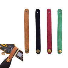 1PC Faux Leather Strap Hook Button For Acoustic /Folk/Classic Guitar Durable CN