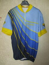Maillot cycliste HUTCHINSON vintage cycling shirt trikot jersey années 80 XXL