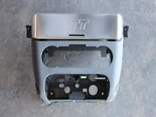 Audi TT 8N Mittelkonsole vorne grau Climatronic Alu Radioblende Radio 8N0863239E
