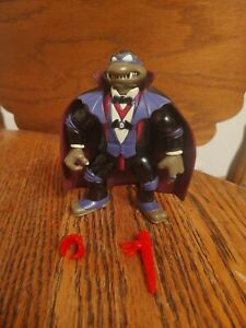 TMNT 1993 DON AS DRACULA W/ACCESSORIES! (RED ACCESSORIES VARIANT)