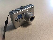 Panasonic LUMIX DMC-LS70 7.2MP Digital Camera - Silver 3x Zoom Near Mint