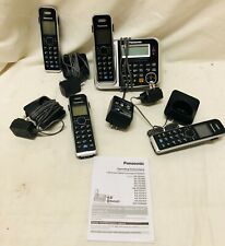 Panasonic KX-TG7871S 4 Handsets Cordless Bluetooth enabled for Cell calls Tested