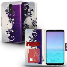 For LG Stylo 4 Premium Leather Wallet Case Pouch Flip Phone Cover Accessory