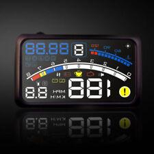 "Universal 5.5"" Km/h Auto GPS HUD Head Up Display Tachometer Geschwindigkeit DE"