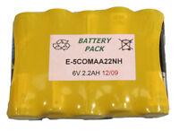 BATERIA 5 X AA CON LENGUETA Baterías Ni-Cd Ni-Mh
