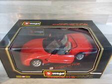 Bburago 1/18 - Chevrolet Corvette convertible 1998