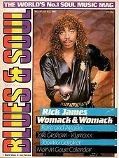 Rick James Blues & Soul 1985  Marvin Gaye  Klymaxx Whitney Houston Rene & Angela