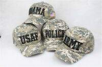 US Army Camouflage Cap Baseball Caps Sports Adjustable Mens Womens Golf Hat