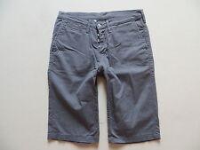Levi's Jeans Chino Shorts Chinohose kurze Hose, W 34, grau, Button Fly Bermuda !