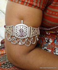 Silver Armlet Arm Bracelet Ethnic Antique Tribal Old