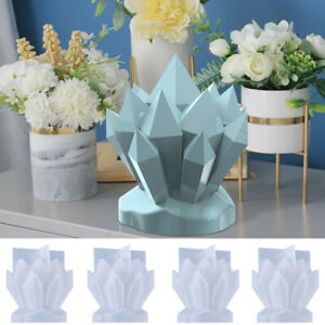 Silicone Candle Moulds DIY Crystal Soap Aromatherapy Candles Wax Plaster Mold