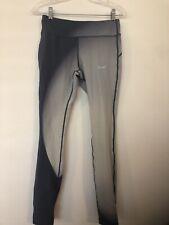 Nike Leggings Medium Women's Ombre Yoga Pants Gray Blue Full Length