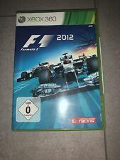 F1 2012 (Microsoft Xbox 360, 2012, DVD-box)