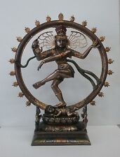 Hindu God Shiva Statue Nataraja Dancing in Flames Puja Figurine Statue  #1748