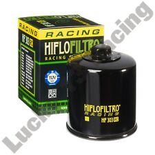 HIFLO Filtro HF303RC Filtro de aceite para adaptarse a muchos modelos de Kawasaki Z ZX ZXR ZZR VN ER-6