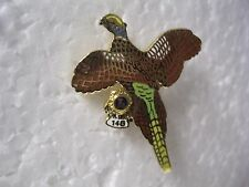 Lions Club Pin Pa District 14-G Flying Turkey Bird in flight Vintage
