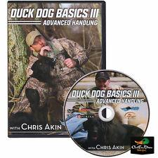 AVERY CHRIS AKIN DUCK DOG BASICS III 3 ADVANCED RETRIEVER HANDLING TRAINING DVD