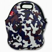Purple Camo Neoprene Lunch Bag Tote Waterproof Insulated SMALL Kids Children Boy