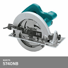 "Makita 5740NB Electric 7"" Circular Saw 1050W 4700Rpm Blade Woodwork 220V-240V"