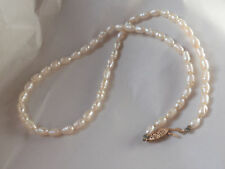 Freshwater Pearl Necklace 14k Yellow Gold Clasp
