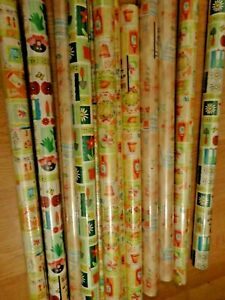 bundle wrapping paper garden design