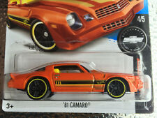 Hot Wheels 2017 - 81' Camaro (Orange) Fifty Series #4 #361 HW 1:64 Sports Car