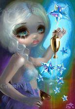 The Star Jasmine Becket-Griffith CANVAS PRINT Lowbrow Tarot art gothic fairy