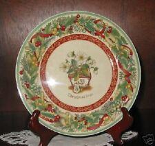 Villeroy & Boch FESTIVE MEMORIES Christmas Rose Plate