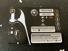 X-wing Miniature Darth Vader Alt Art Pilot Card