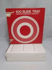 (2) gaf 100 Slide Trays for Anscomatic Keystone Sawyer's Sears Wards