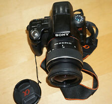 Sony Alpha A 55 SLT-A55 V, mit Kit Objektiv 18-55mm Auslösungen 29412 - sehr gut