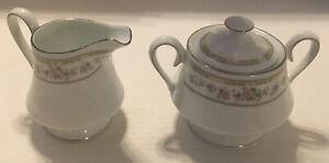 Kentfield & Sawyer Sugar & Creamer Set Fine Porcelain