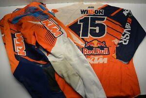 Dean Wilson ANSR Race Jersey Pants Gear ANSR Orange Supercross Motocross