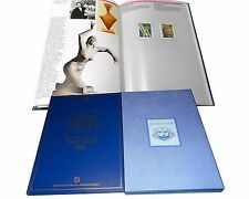 IL Libro dei FRANCOBOLLI d'ITALIA valori postali 1991 completo