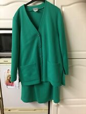 Retro Green Skirt Suit Size 16 Refa Classic