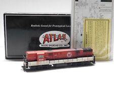 HO Scale Atlas Gold Custom Weathered Ohio Train Master Locomotive #309 w/Sound