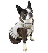 Martha Stewart Fashionable Tweed Dog Harness Tan Dress - New