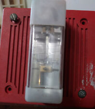Wheelock EH-DL1-WM-24 Red Strobe Fire Alarm Used