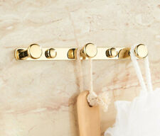 Bathroom Wall Mount Hooks Hanger Bath Towel Clothes Accessories Kitchen Holder