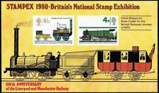 Gb 1980 Stampex Souvenir Sheet - Liverpool And Manchester Railway 150th Ann'y Um