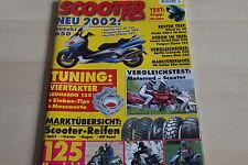 152710) Suzuki UE 125 vs MBK Flame 125 F vs Daelim Otello - Scooter 05/2001
