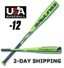 "2019 Rawlings THREAT Youth USA 27""/15 oz Composite 2-5/8"" Bat US9T12 >2-DAY SHIP"