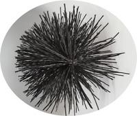 "CFC024 6"" dia Polypropylene Brush Head for Flue Brush Kits; Black"