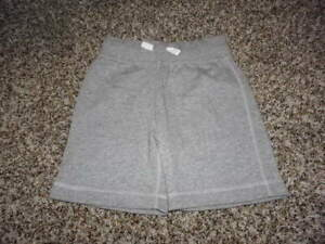 NWOT NEW HANNA ANDERSSON 100 GRAY STRIPED BOYS SHORTS