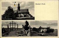Dörnthal Freiberg Sachsen 1942 Alte Wehrkirche Friedhof Kriegerdenkmal Schule