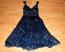 Oasis Silk V-Neck Midi Dresses for Women