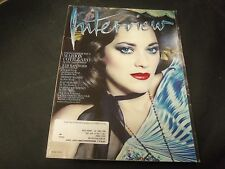 2014 MARCH INTERVIEW MAGAZINE - MARION COTILLARD FRONT COVER - O 6162